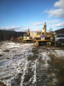 Excavating Services in Southern Vermont