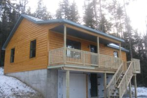 Custom Built Modular Log Homes