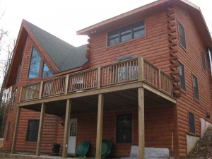 Byrne Log Home