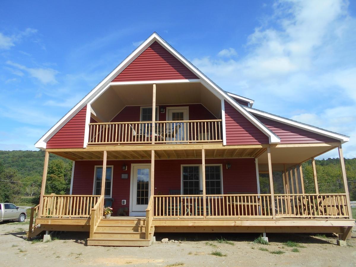Custom built trailer homes delaware beach homes modular for Custom beach house plans