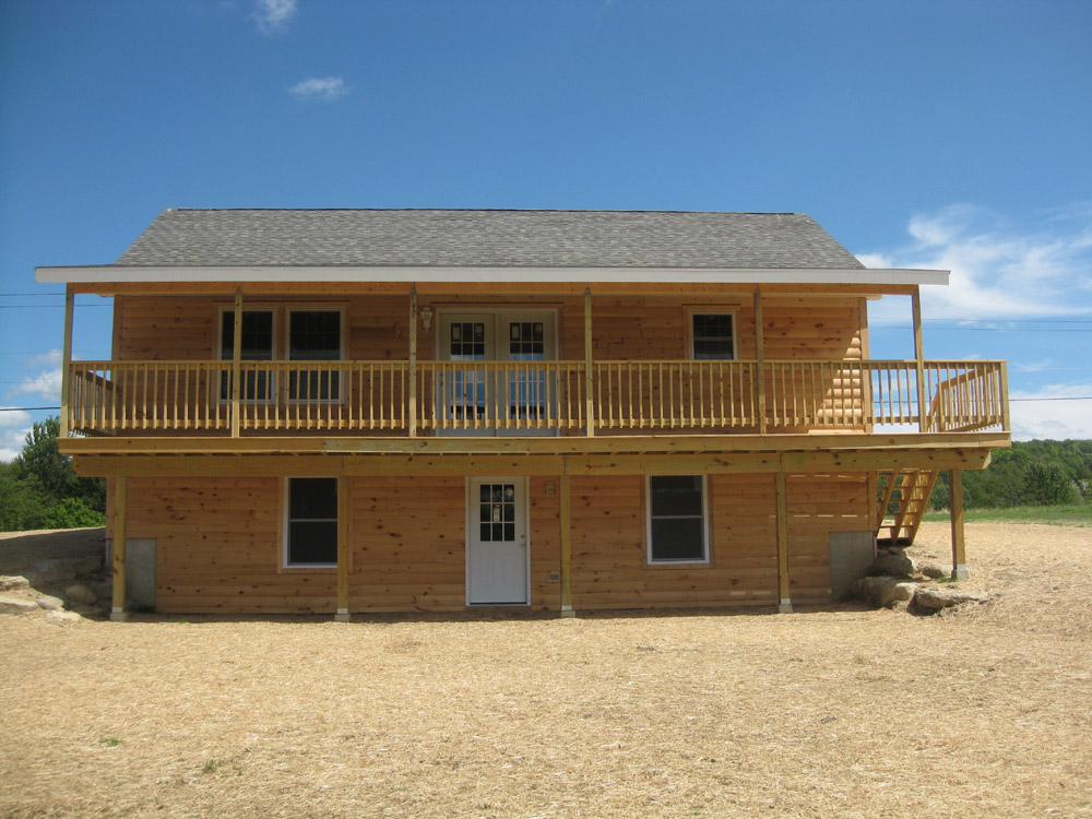 Custom Built Modular Log Homes